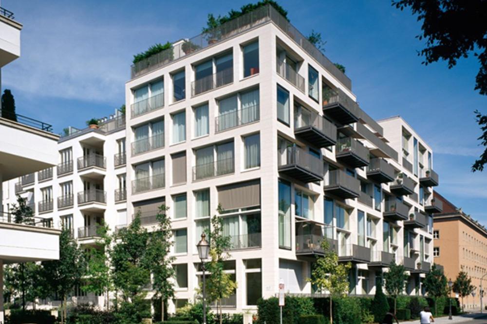 LENBACHGÄRTEN Wohngebäude München